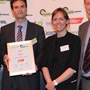 Report of the Year Award - Runner-Up: (l-r) Stephen Tetlow (IMechE), Ausilio Bauen (E4Tech), Claire Chudziak (E4Tech), Greg Archer (LowCVP)