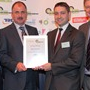Vehicle Operator Award - Highly Commended: Graham Hine & Nick Hillard (University of Warwick), Iwan Parry (TRL), Greg Archer (LowCVP)