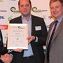 Innovation Award - Runner-Up: (l-r) Olly Mace (BP), Martin Kadhim (Ashwoods), Greg Archer (LowCVP)