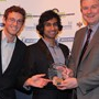 The Whipcar Team: Sam Parton & Vinay Gupta with Greg Archer (LowCVP)