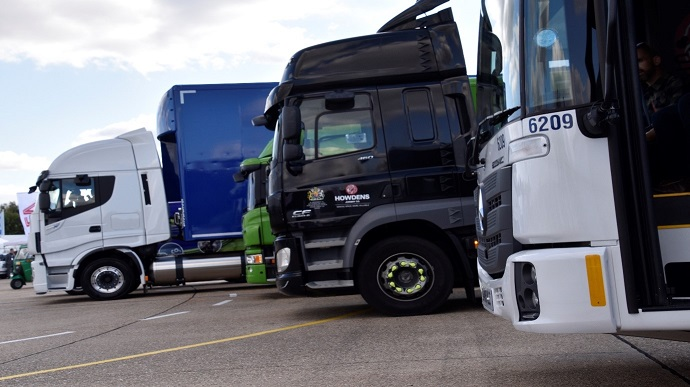 Low Emission Trucks at the LowCVP Truckstop LCV2018