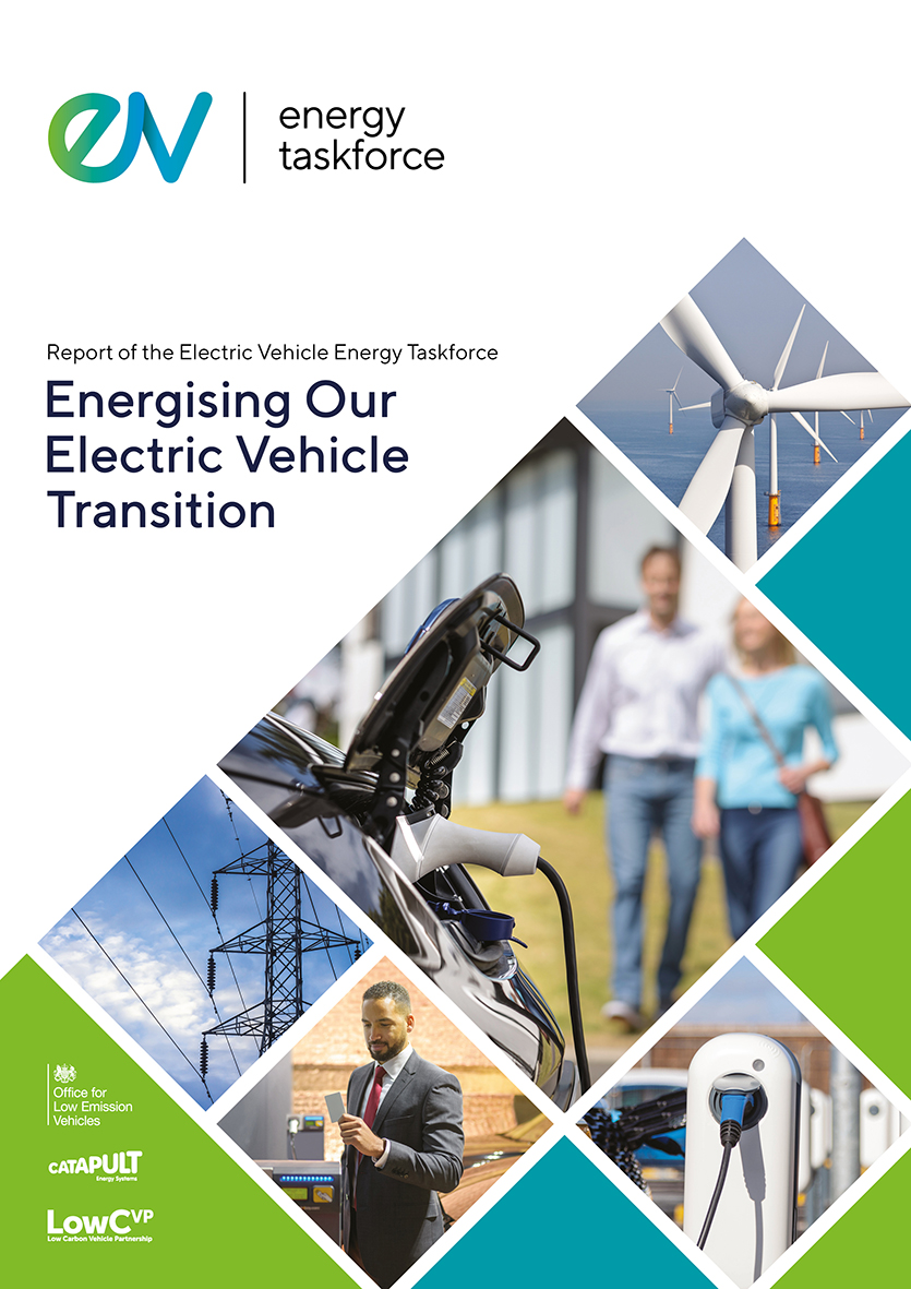 EV Energy Taskforce Report Cover Image - Jan 2020