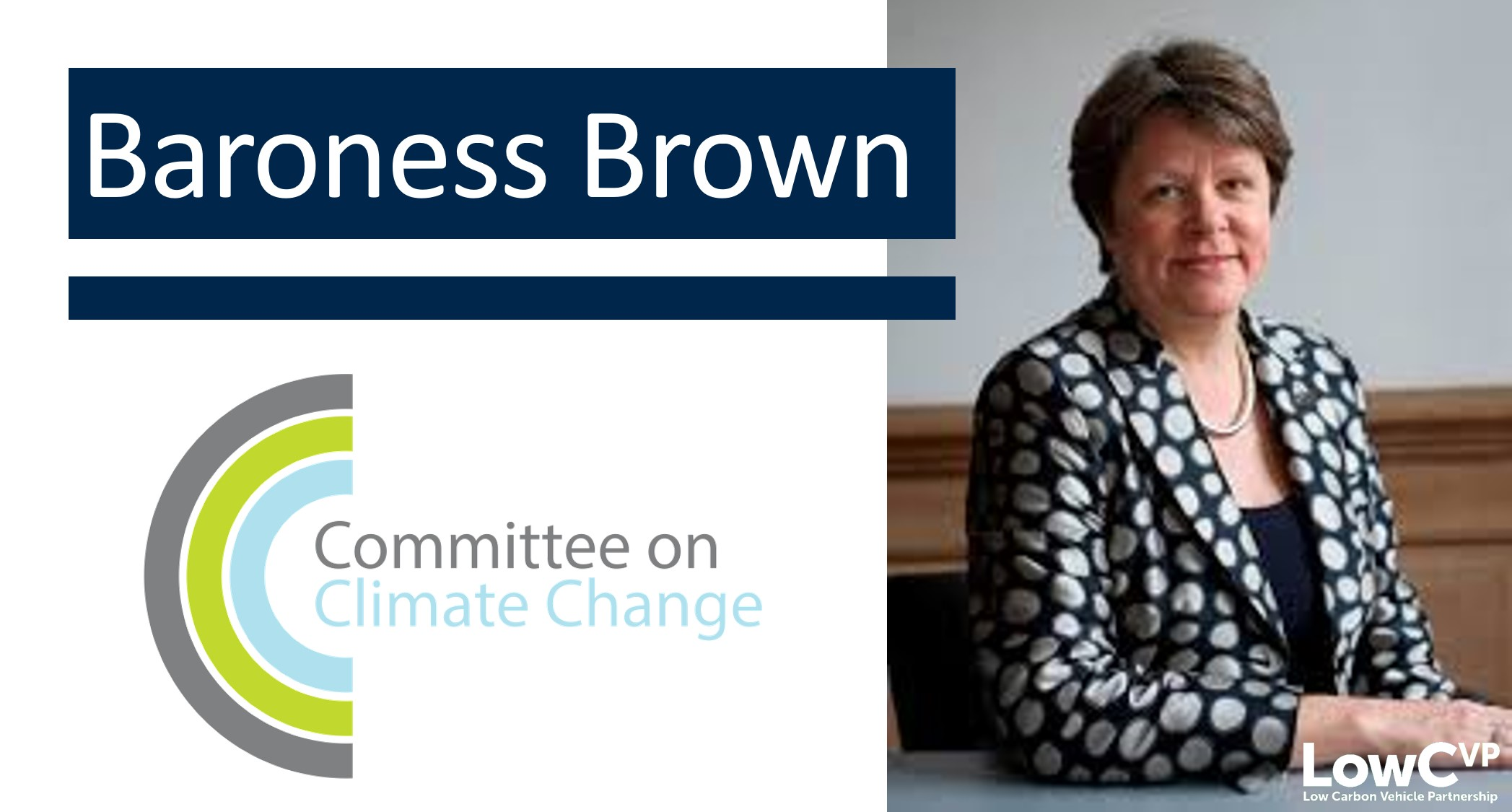 Baroness Brown of Cambridge, Committee on Climate Change