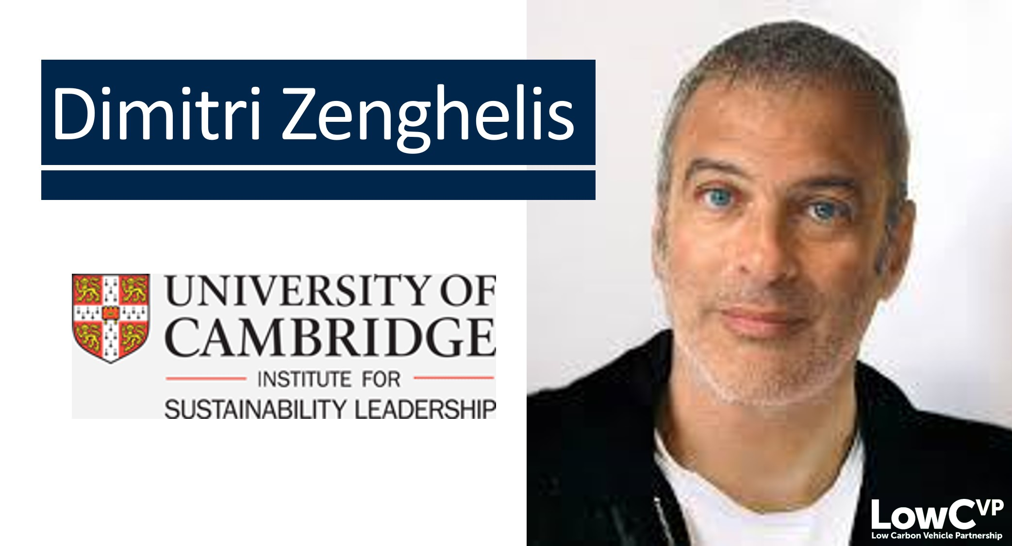 Dimitri Zenghelis, Institute for Sustainability Leadership