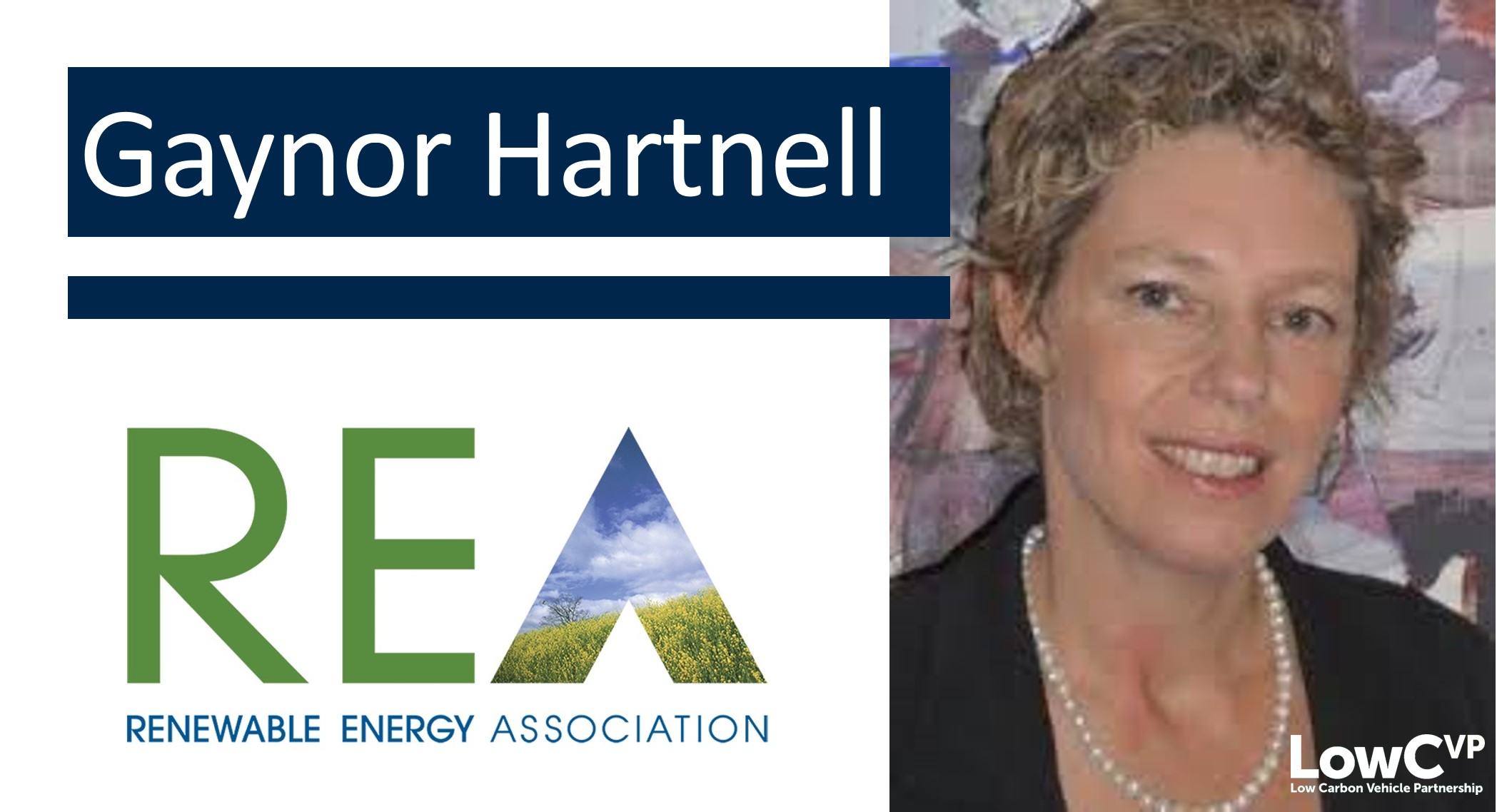 Gaynor Hartnell, Head of Transport Fuels & LFG, Renewable Energy Association