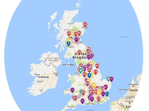 LCEB Map of UK