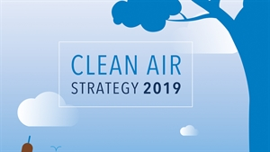 Government publishes Clean Air Strategy; long-term target to cut damaging pollutants