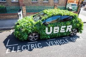 Uber introduces 15p/mile fee to help fund driver EV uptake