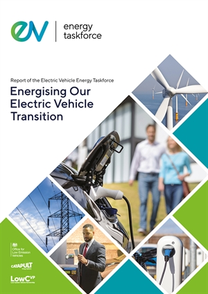 Electric Vehicle Energy Taskforce - report launch video published!