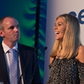 LowCVP MD Andy Eastlake and Awards MC Nicki Shields