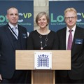 LowCVP MD Andy Eastlake, Lilian Greenwood MP and LowCVP Chair Darran Messem