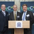 LowCVP MD Andy Eastlake, former Chair Prof Neville Jackson and former MD, Greg Archer.