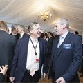 Lord Borwick (former Board member) and Andy Eastlake