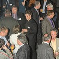 Guests enjoying Reception at London Transport Museum