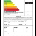 Used car fuel economy label 2009 - sample