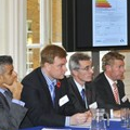 Sadiq Khan, Greg Archer (LowCVP), Paul Everitt (SMMT)& Stephen Latham (RMI) take questions