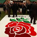 Conference Reception on England Rugby Pitch