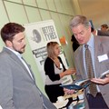 Exhibitors engage with conference delegates