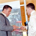 Exhibitors engage with delegates