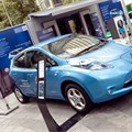 Drive the Future Outdoor Exhibit - Electric Nissan Leaf