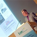 Greg Archer, LowCVP MD, addresses the conference