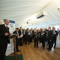 Andy Eastlake addresses the Parliamentary Reception