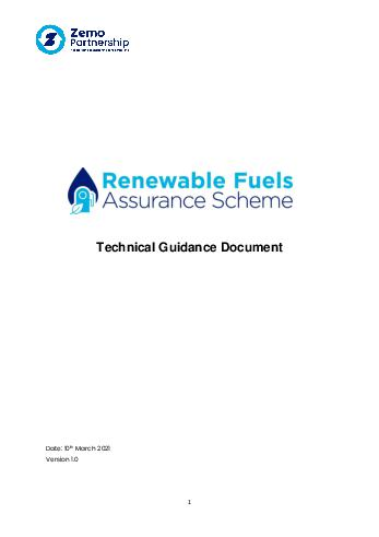 RFAS Technical Guidance